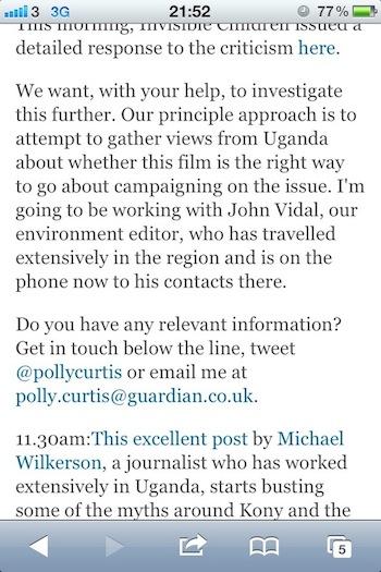 Guardian Reporting