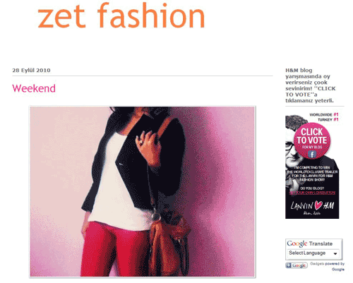 Zet Fashion - the winner of the competition